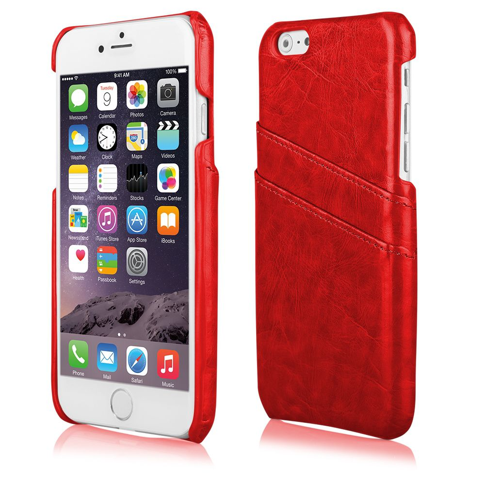 Pouzdro na Samsung G925 S6 EDGE BUSINESS - červené Ego Mobile