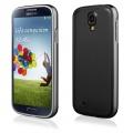 Pouzdro na Samsung i9500 S4 - LUXURY+ACRYLIC GLASS černé