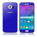 Ochranné tvrzené sklo pro Samsung G920 S6 (přední/zadní - 0.3mm) perlově modré - GLASS