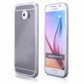 Pouzdro na Samsung G920 S6 - MIRROR - stříbrné