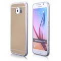 Pouzdro na Samsung G920 S6 - MIRROR - zlaté