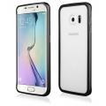 Pouzdro na Samsung G928 S6 + - LUXURY+ACRYLIC GLASS černé