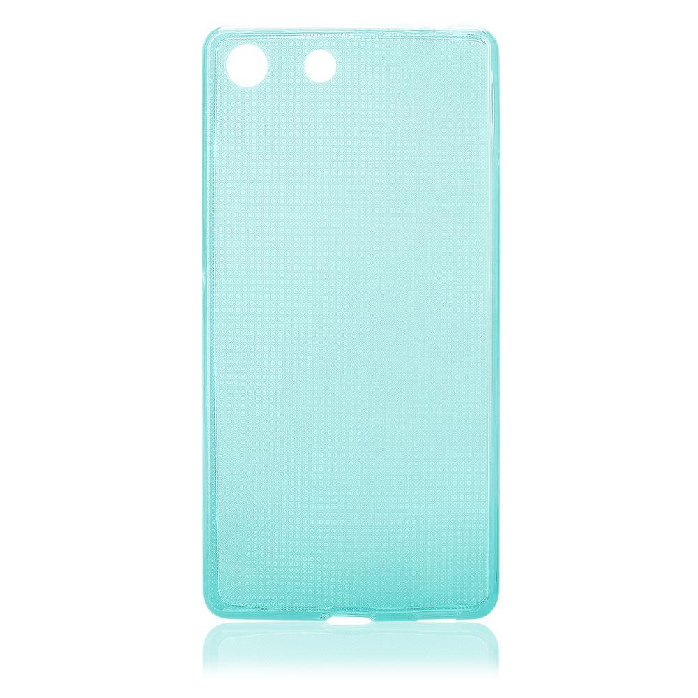 Pouzdro na Sony Xperia M5 - FITTY (zadní kryt) modré Jelly Case