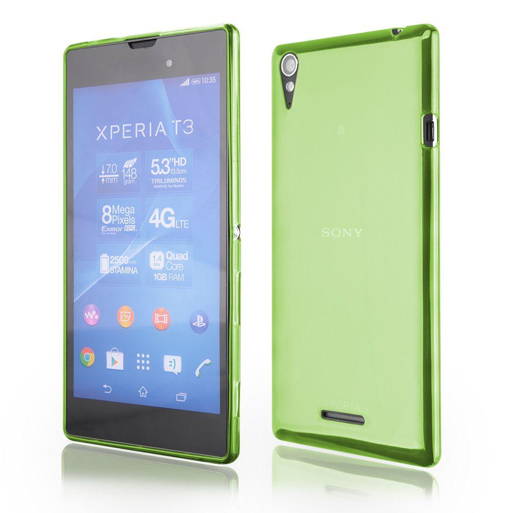 Pouzdro na Sony Xperia Z5 - FITTY (zadní kryt) zelené Jelly Case