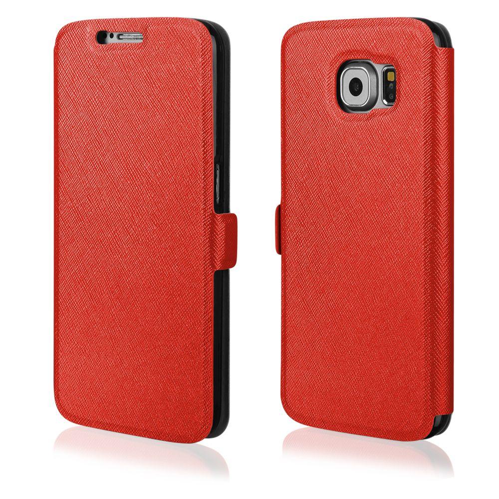 Pouzdro na Sony Xperia Z5 - FLIP SOFT červené Ego Mobile