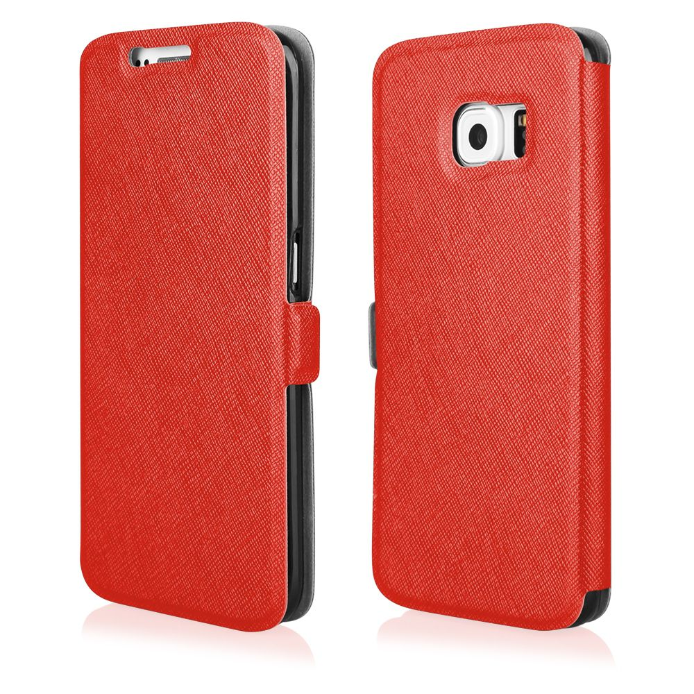 Pouzdro Flip Soft na Motorola G3 - červené Ego Mobile