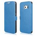 Pouzdro na Samsung G800 S5 Mini - FLIP SOFT modré