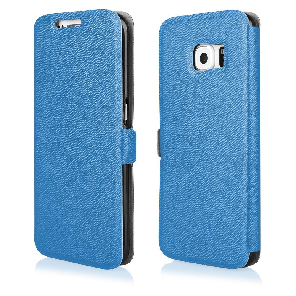 Pouzdro na Samsung G800 S5 Mini - FLIP SOFT modré Ego Mobile