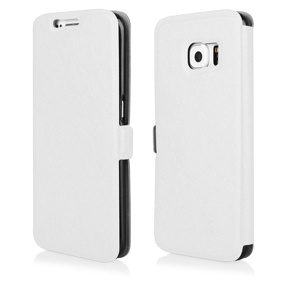 Pouzdro na Samsung G800 S5 Mini - FLIP SOFT bílé Ego Mobile