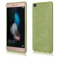 Pouzdro EGO Mobile na Huawei P8 Metallic zelené