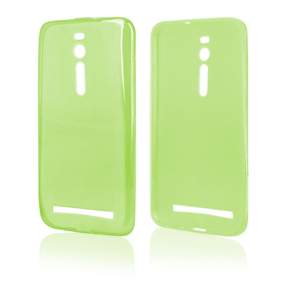 Pouzdro na ASUS Zenfone 2 FITTY - zelené Jelly Case