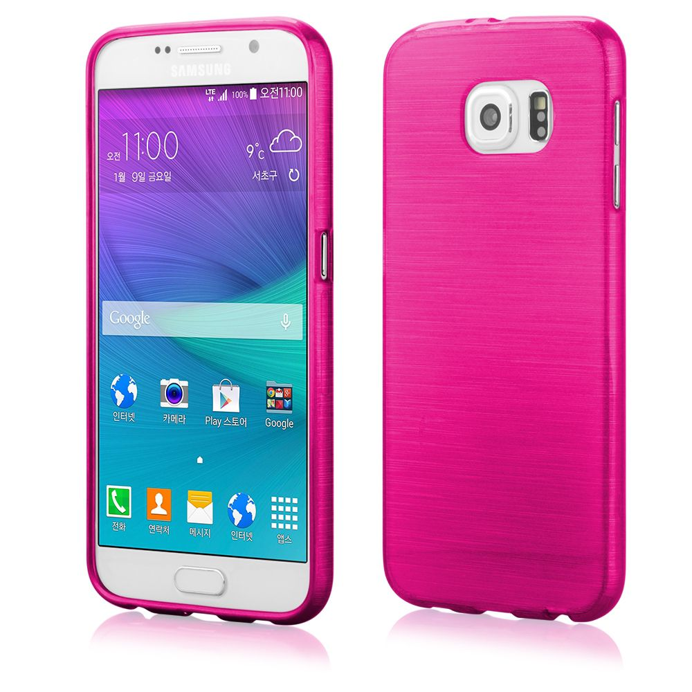 Pouzdro na LG G3 Mini (D722) - Metallic Jelly Cover - růžové Ego mobile