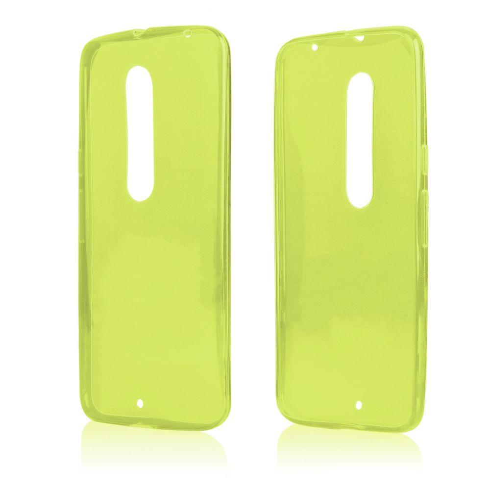 Pouzdro na Motorola MOTO X Play FITTY - zelené Jelly Case