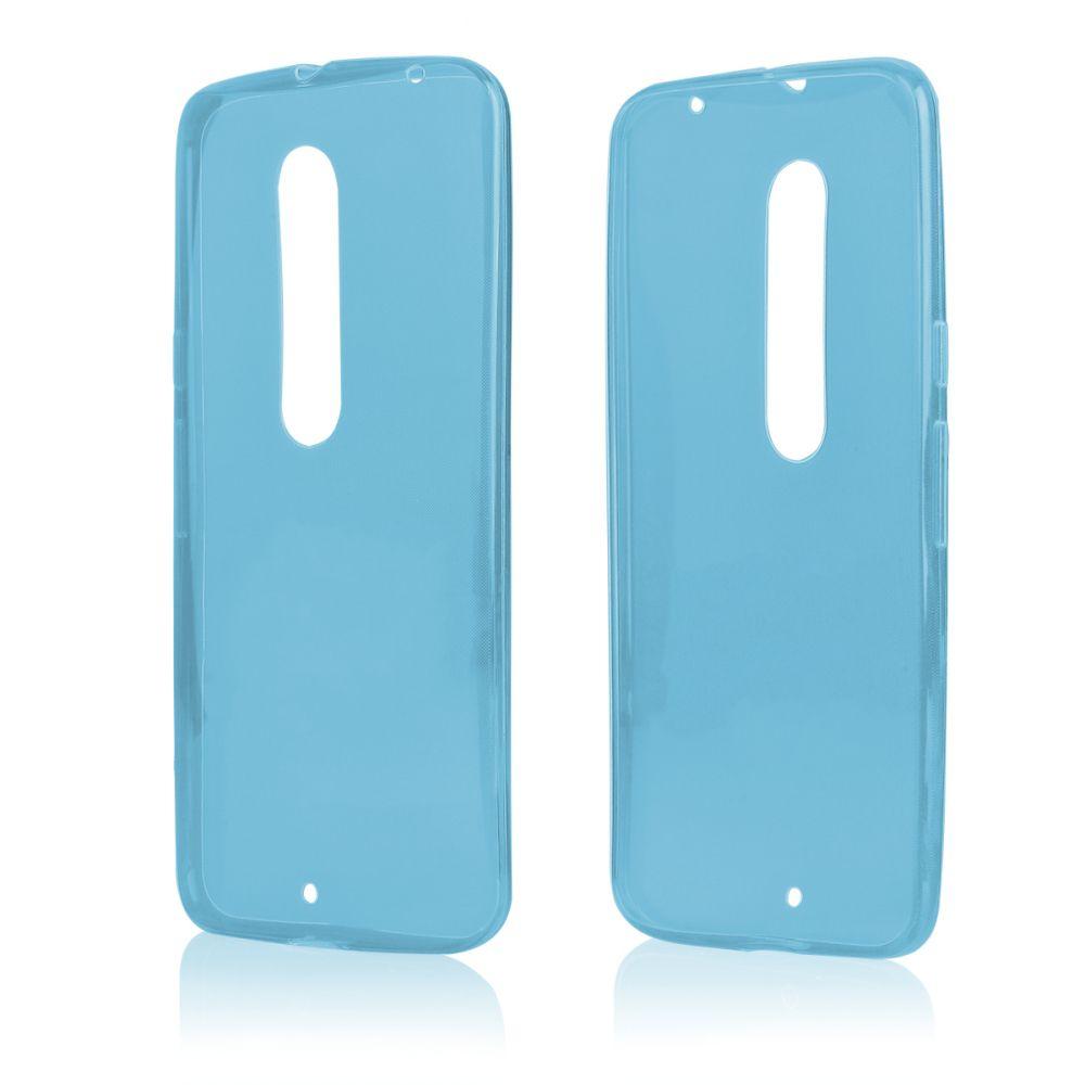 Pouzdro na Motorola MOTO X Style FITTY - modré Jelly Case