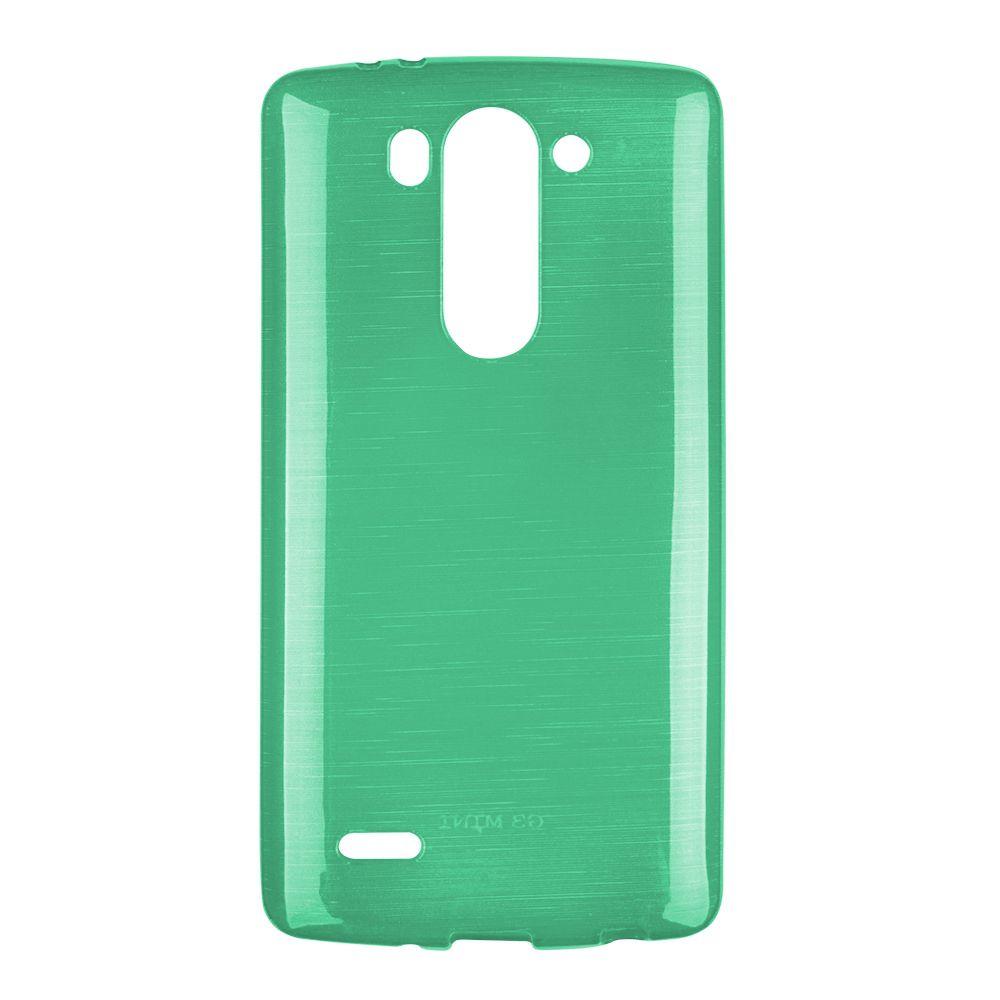 Pouzdro na LG G3 Mini (D722)- Metallic Jelly Cover - zelené EGO Mobile