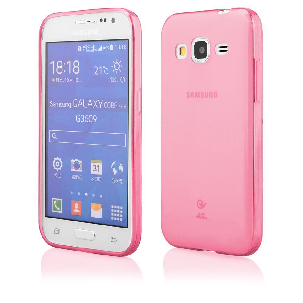 Pouzdro na Samsung G360 CORE PRIME - FITTY (zadní kryt) červené Jelly Case