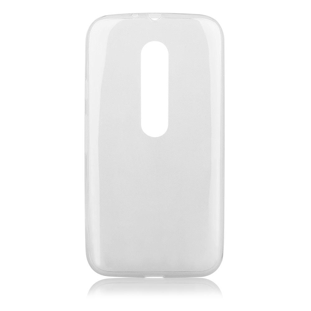 Pouzdro na Motorola MOTO G3 (2015) - FITTY - průhledné Jelly Case