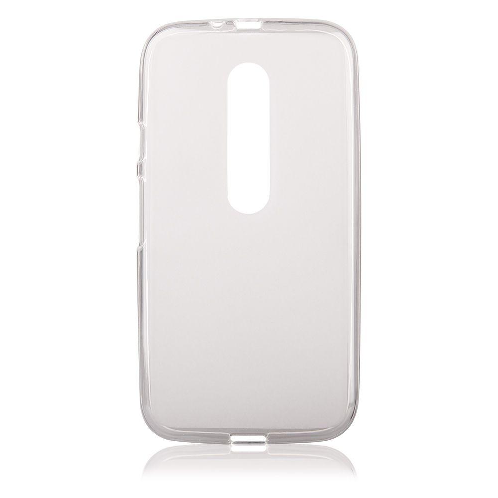 Pouzdro na Motorola MOTO G3 (2015) - FROSTED - průhledné Jelly Case