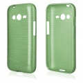"Pouzdro na Samsung G318 Trend Lite 2 - ""METALLIC JELLY COVER"" - zelené"