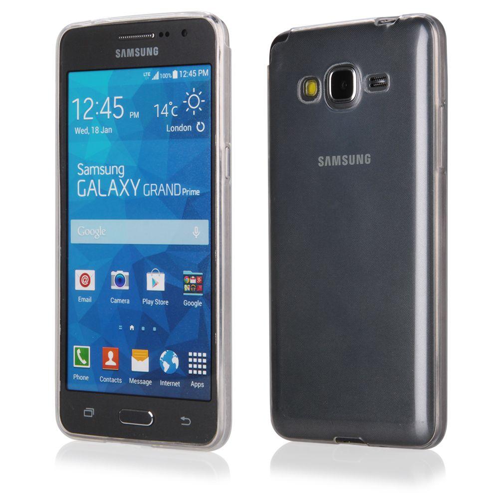 Pouzdro na Samsung G530 Grand Prime - FITTY (zadní kryt) průhledné Jelly Case