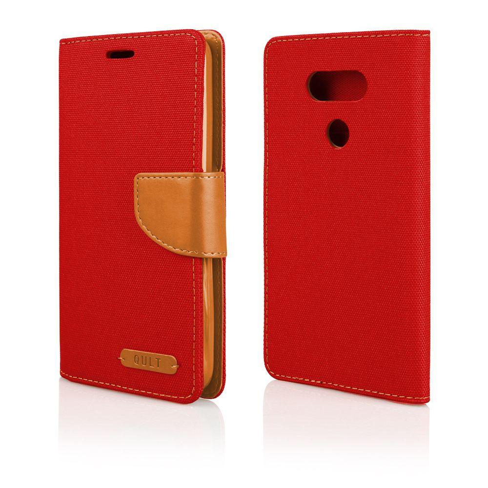 Pouzdro Fancy Case na LG G5 červené