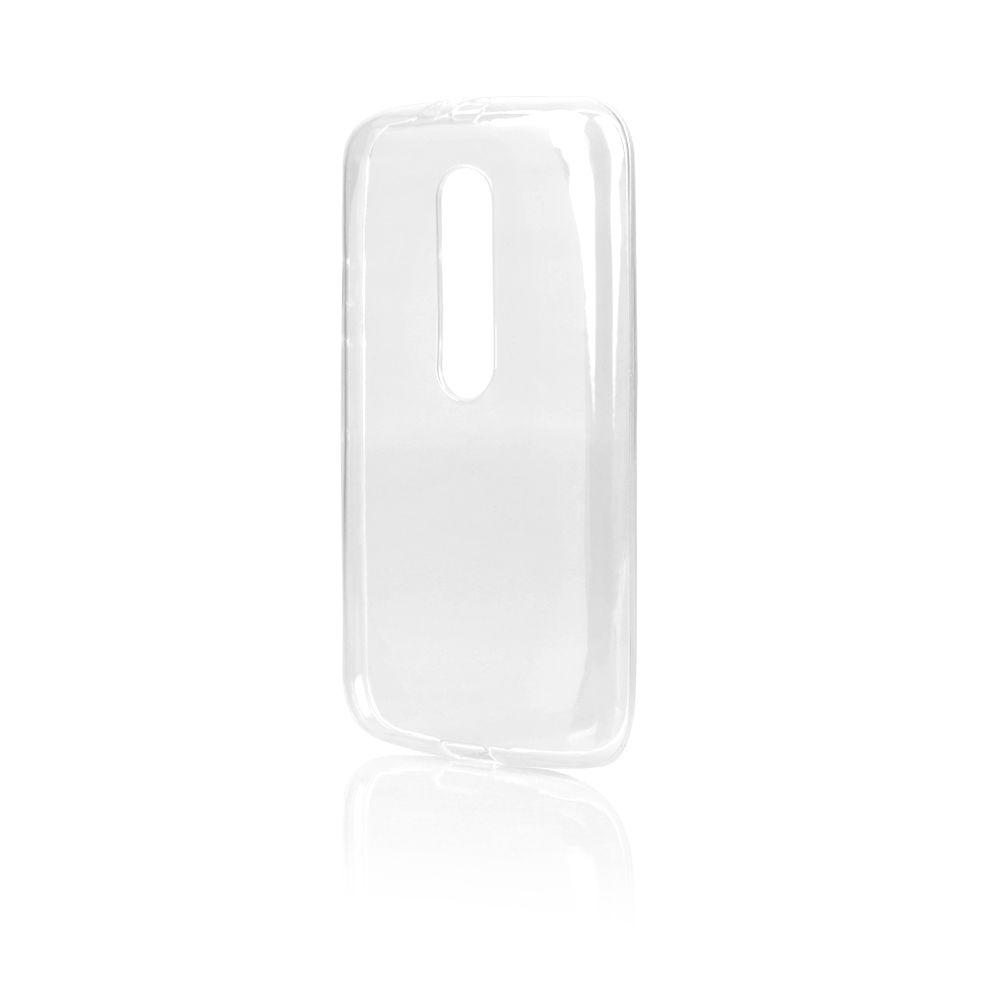 Pouzdro Jelly Case na Motorola MOTO G3 - čiré
