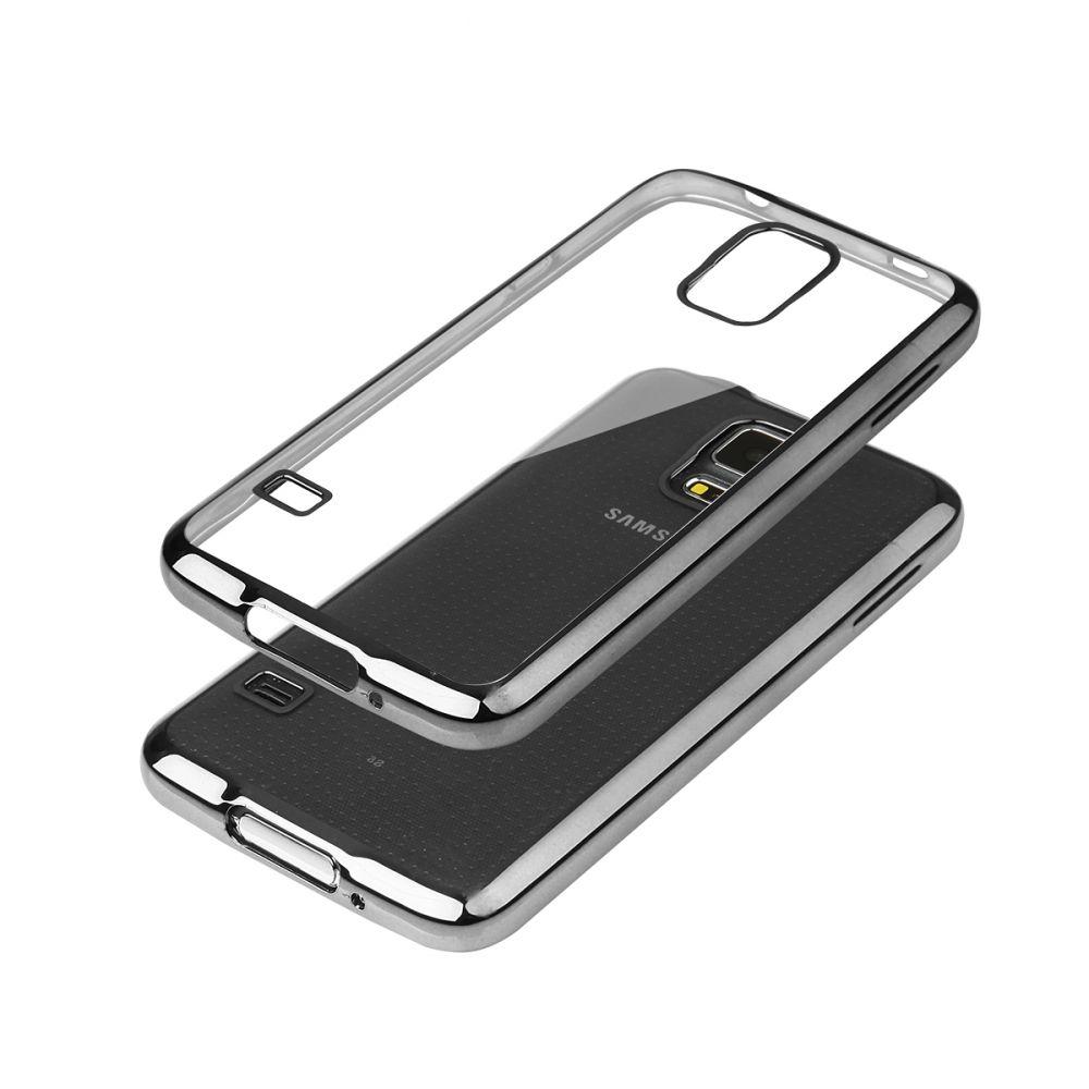 """Pouzdro na Samsung G900 S5 - """"GLOSSY"""" - černé Ego Mobile"""