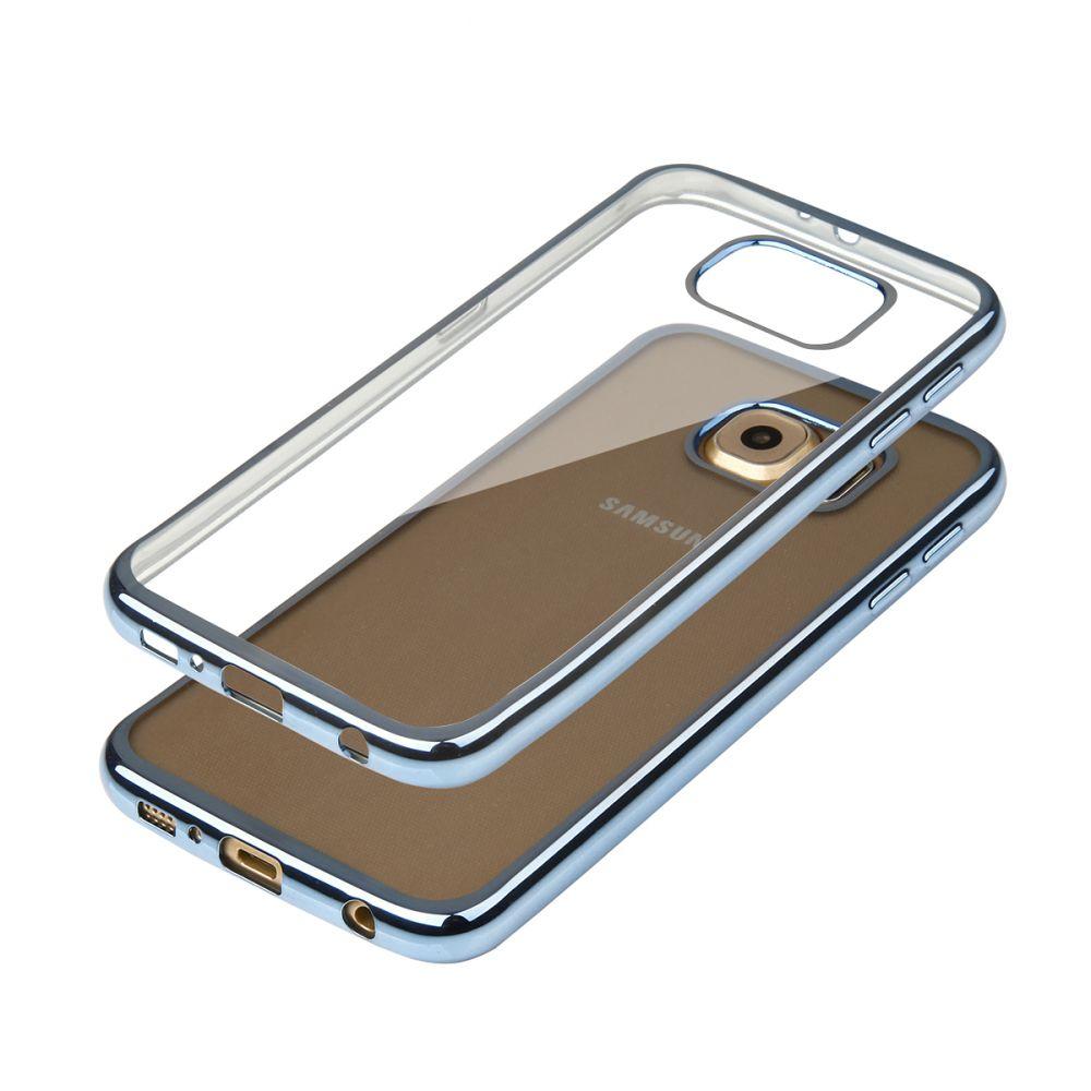 """Pouzdro na Samsung G920 S6 - """"GLOSSY"""" - modré Ego Mobile"""