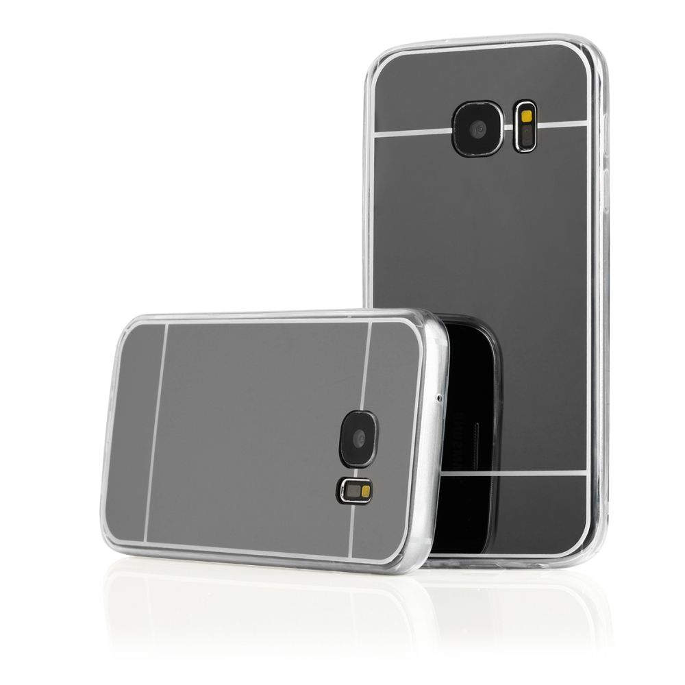 Pouzdro na Samsung G930 S7 - MIRROR - černé Jelly Case