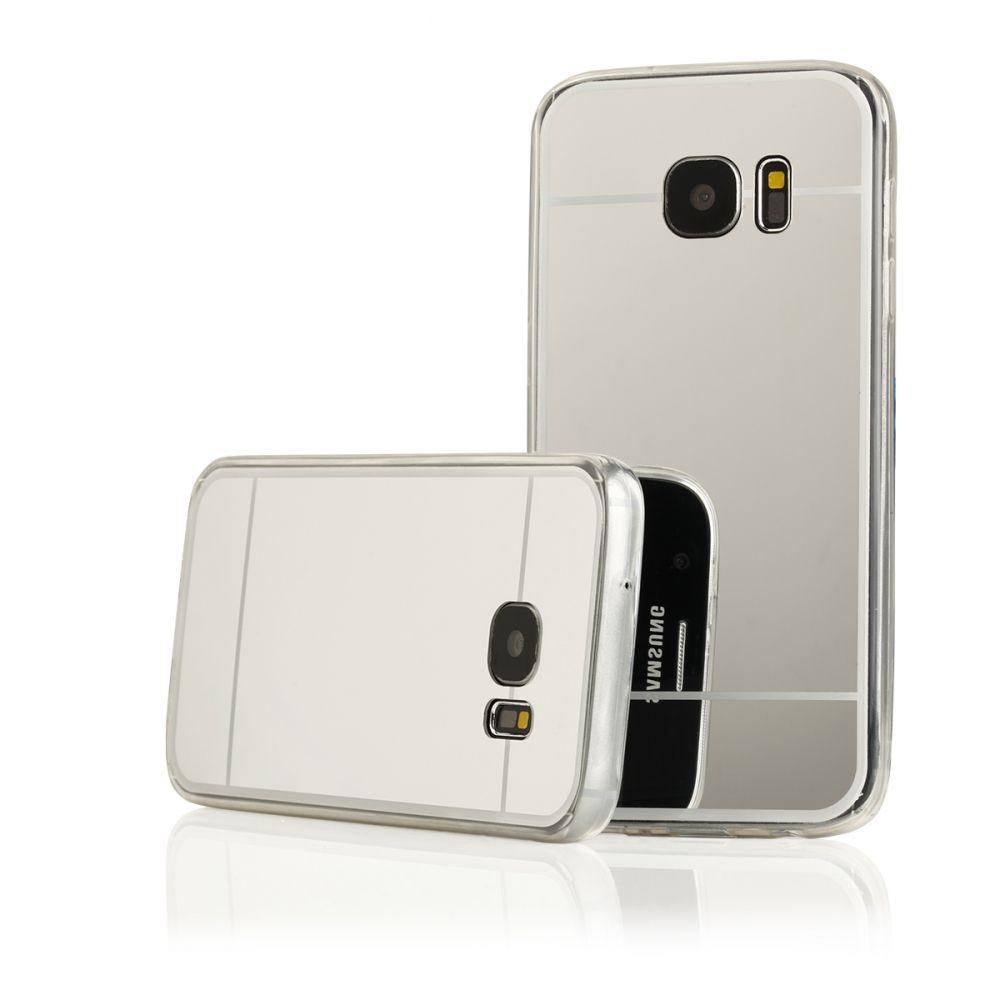 Pouzdro na Samsung G930 S7 - MIRROR - stříbrné Jelly Case