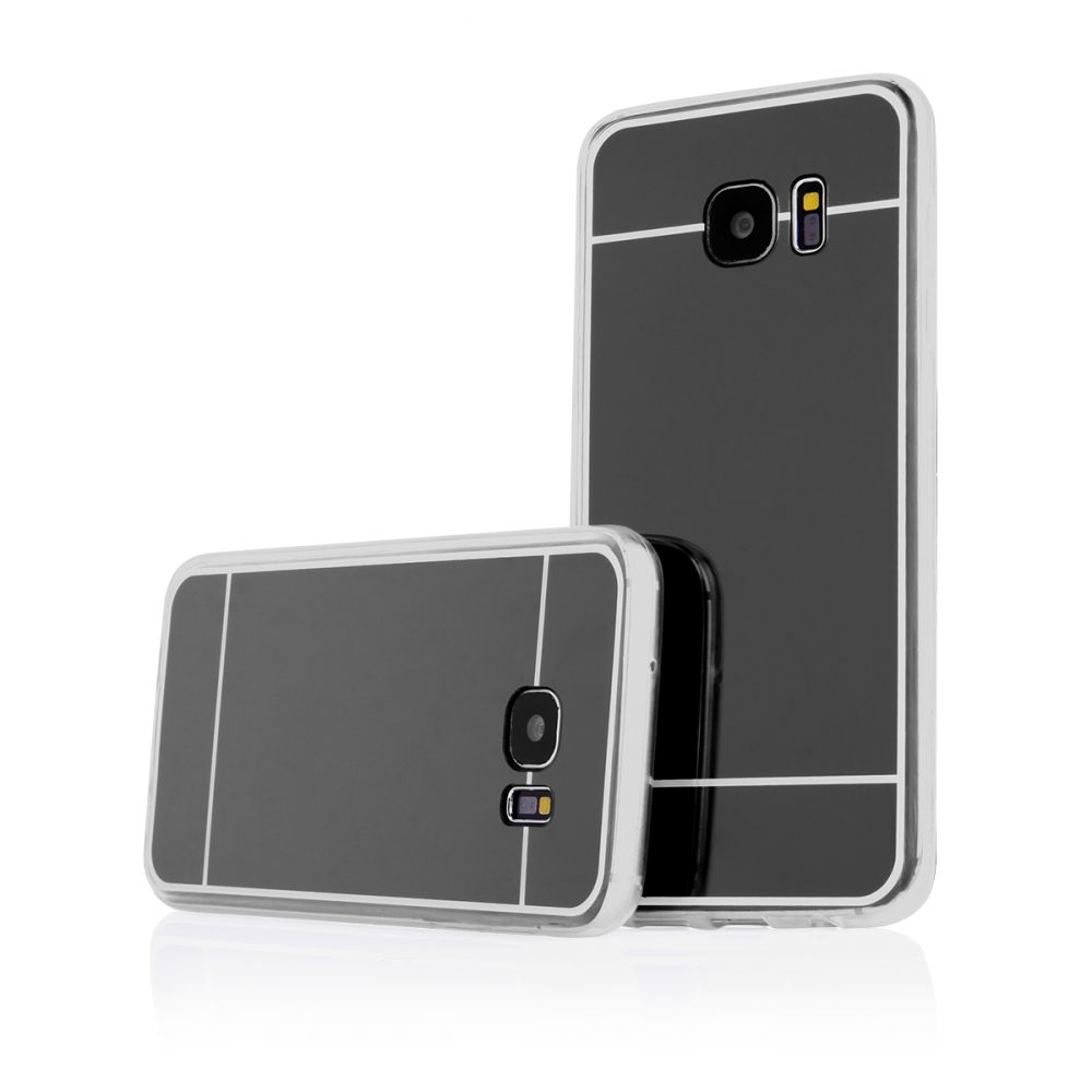 Pouzdro na Samsung G935 S7 EDGE - MIRROR - černé Jelly Case