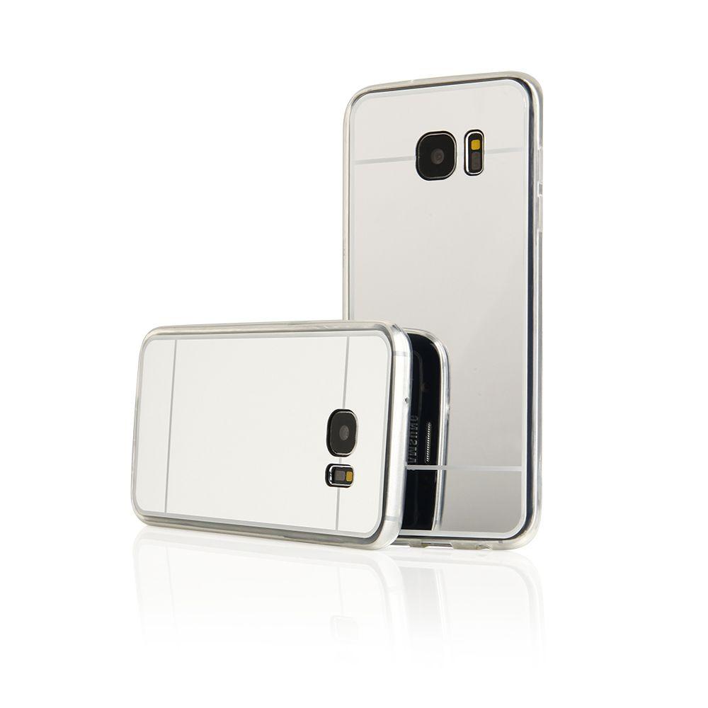 Pouzdro na Samsung G935 S7 EDGE - MIRROR - stříbrné Jelly Case