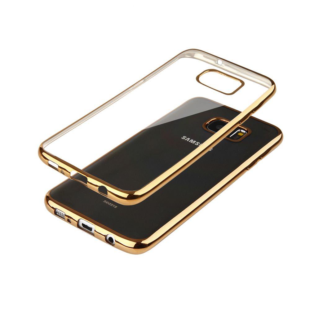 """Pouzdro na Samsung G930 S7 - """"GLOSSY"""" - zlaté Ego Mobile"""