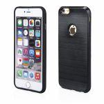 Pouzdro na iPhone 6/6s 5.5 - Motomo Metallic (boční a zadní kryt) - černé