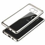 Pouzdro na Samsung Note 7 - GLOSSY - stříbrné