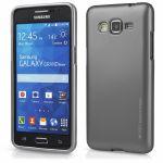 Pouzdro Goospery Mercury Jelly na Samsung G530 Grand Prime šedé