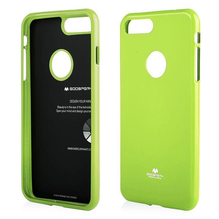Pouzdro na iPhone 7 Plus - MERCURY citronové s výřezem