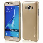 Pouzdro Goospery Mercury Jelly na Samsung J5 J510 (2016) zlaté