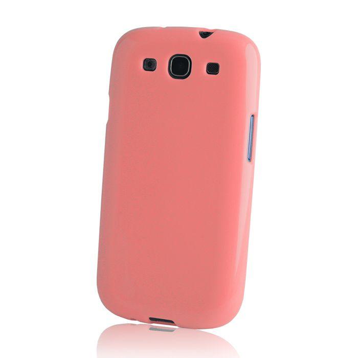 Pouzdro na Huawei G8 - Jelly case - růžové GreenGo