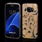 Pouzdro Blink Case pro Samsung J5 J510 2016 zlaté Noty