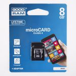 PAMĚŤOVÁ KARTA GOODRAM Micro SD 8GB 4cl.
