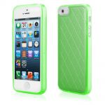Pouzdro Qult Skin pro iPhone 5/5s/SE zelené