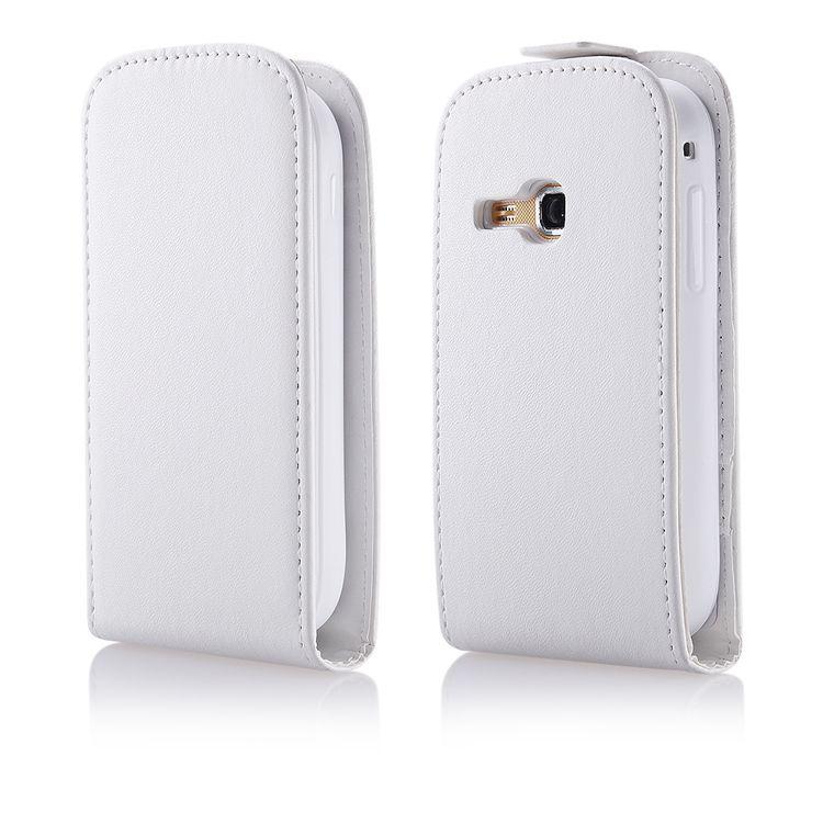 Pouzdro na Samsung S6500 Mini 2 bílé - vertikální - Flexi EGO Mobile