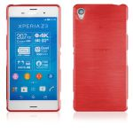 Pouzdro EGO Mobile na Sony Xperia Z3 (D6653) Metallic červené