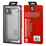 Pouzdro Qult na Samsung G955 S8 PLUS Jelly průhledné černé