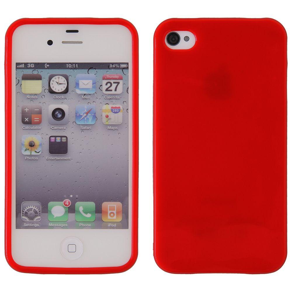 Pouzdro na Samsung S5570 červené - JELLY CASE