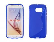 Pouzdro na Samsung S6 G920 - S-case - modré