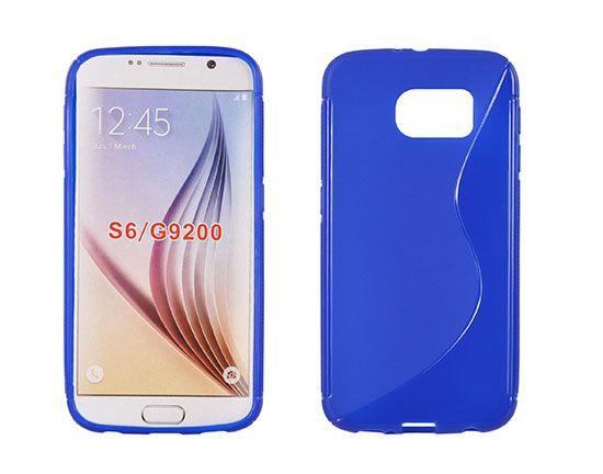 Pouzdro na Samsung S6 G920 - S-case - modré S Case