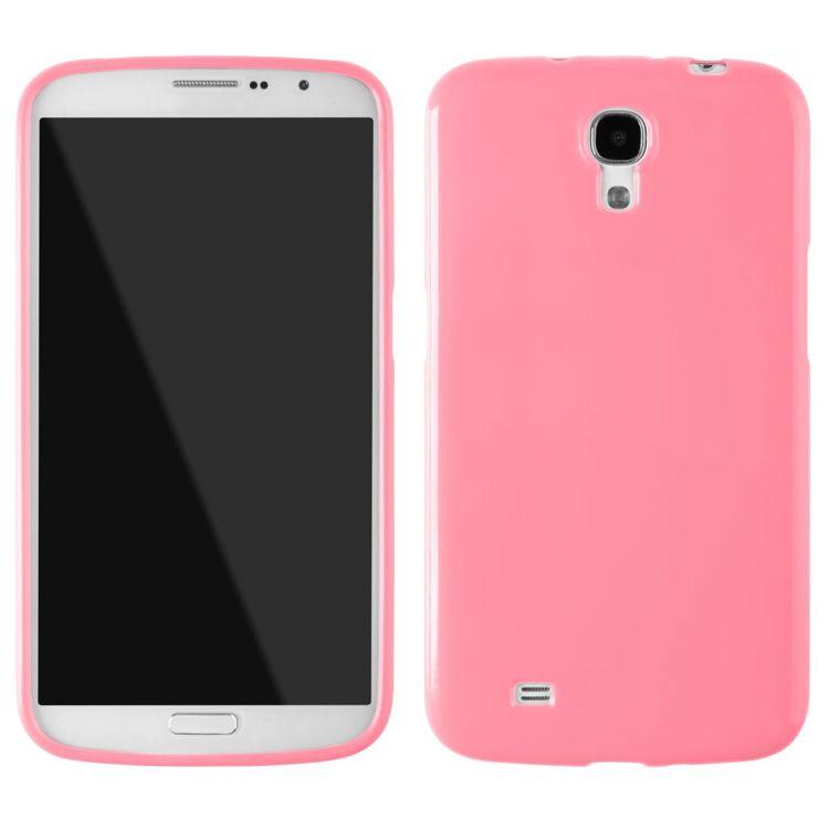 Pouzdro na Samsung i9200 Galaxy MEGA 6.3 - JELLY CASE - růžové