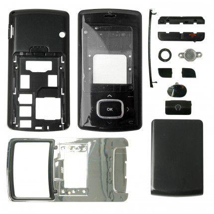 Výměnný kryt pro LG KG800 - neoriginální - černý Global technology